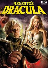 DARIO ARGENTO'S DRACULA DVD LIKE A HAMMER HORROR FILM HAS HOT GIRLS AND NUDITY