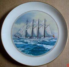 The Sumner Collection Plate JUAN SEBASTIAN DE ELCANO SPAIN - TALL SHIPS PLATE