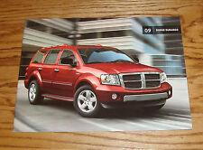 Original 2009 Dodge Durango Sales Brochure 09