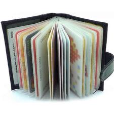 Fashion Sale Men's Luxury Soft  Black Leather Credit Card Holder Wallet  dn