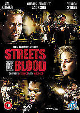 Streets of Blood [DVD], Very Good DVD, Barry Shabaka Henley, 50 Cent, Sharon Sto