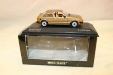 Minichamps 1:43 Opel Kadett D 1979 Bronze mint in box