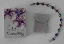 Lab-Created/Cultured Enamel Costume Bracelets