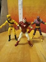 Baron Zemo, AIM Soldier & Ironman Marvel Universe/Hasbro figure lot of 3