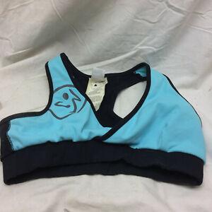 Zumba Sports Bra Size S Racerback workout clothing MOVE ME
