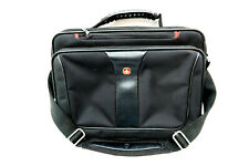 """Black WENGER Swiss Army Laptop Computer Shoulder Bag with Strap 16"""" x 12"""" x 4"""""""