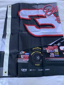Nascar Fan Flag Large #3 Dale Earnhardt RARE NEW
