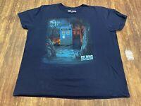 Dr. Who & The Daleks Men's Blue T-Shirt - 2XL