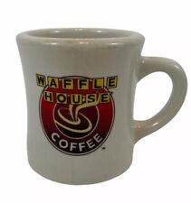 "Vintage Waffle House Ceramic Coffee Cup Mug Tuxton Heavy Restaurant Ware 4"""