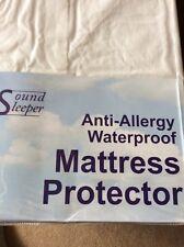 SINGLE Anti - Allergy Waterproof Mattress Protector . Anti Dust Mite / Bacterial