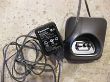 Oem Panasonic Pnlc1017 Cordless Phone Handset Charger With Pnlv233 Ac Adapter