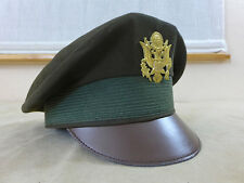 US WW2 Service Officer Visor cap / Schirmmütze Offizier Gr.58 MAJOR