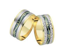 Trauringe Eheringe Verlobungsringe Gold 585 14 Karat 8 mm Gravur