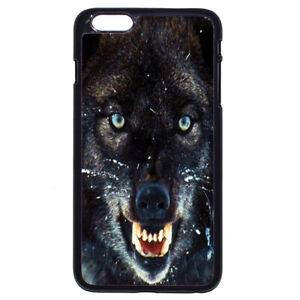 Fierce Wolf Animals For iPhone iPod Samsung LG Motorola SONY HTC HUAWEI Hon Case