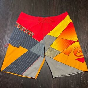 Quiksilver Brand Mens Board Shorts Size 36 Surfing Swimming Trunks quicksilver