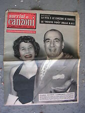 TV SORRISI e CANZONI # 47 - 20 NOVEMBRE 1955 - CLARA JAIONE e ARMANDO FRAGNA