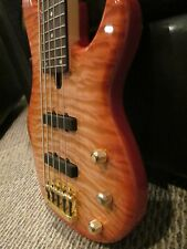 Yamaha BB G5 Bass Guitar, Used, 5-String, Amber burst, Great condition