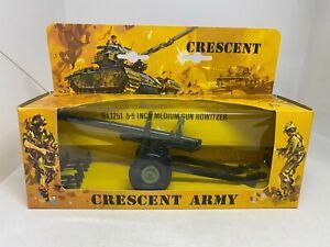 "Crescent Toys - Army 1251 5.5"" Medium Heavy Howitzer Boxed"