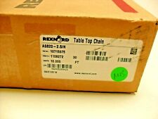 Rexnord Table Top Chain 10715375 As820 25in 30ft Nib