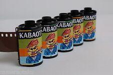 5 x Kabaottemulsion Heisenberg CINE 25D colour negative ISO25 24EX C-41 Expired