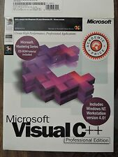 Microsoft Visual C++ Professional 5.0 CD Media with WinNT Workstation 4.0