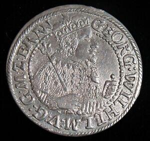 Germany: Brandenburg-Prussia 1623 1/4 Thaler / 1 Ort. BU
