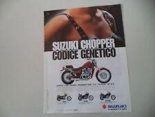 advertising Pubblicità 1996 MOTO SUZUKI VS 600 GL/GLF