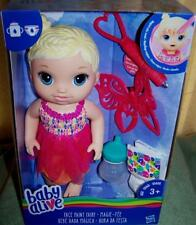 """Baby Alive FACE PAINT FAIRY 12"""" Blonde Doll New"""