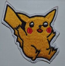 Pokemon Iron On Patch Embroidered Sew on Iron On Transfer Fancy Dress BADGE
