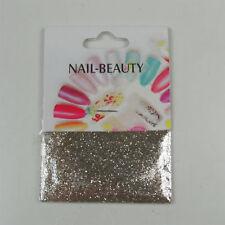 *** (0,68€/1g) 1,5 g Glitter Glitzer Nailglitter - Gold Silber irisierend Beige