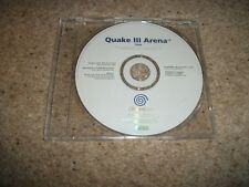 RARE PROMO - QUAKE 3 ARENA - Sega Dreamcast (PAL/UK) - DISCS ONLY