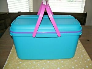 Eagle Craftstor LARGE Sewing Craft Storage Tote with 2 Organizer Bins