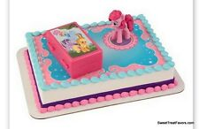 My Little Pony Cake Topper Decoration Supplies Birthday Pinkie Pie Cupcake Horse
