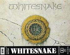 WHITESNAKE WHITESNAKE CASSETTE ALBUM 1987 DAVID COVERDALE DUNBAR HARD ROCK