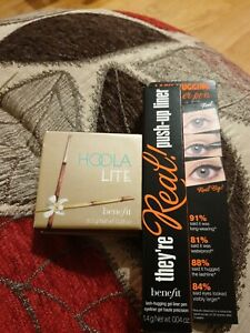 Hoola Lite Benefit 8g Light Bronzer Lash Hugging Gel Liner Pen 1.4g Bundle