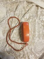 Vintage Orange AT&T  Wall Phone Cord Handset Retro Princess Trimline