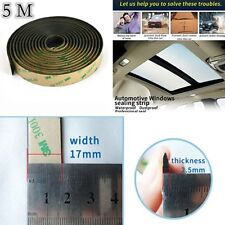 Seal the window gap 5 Meters Rubber Seal Strip For Car Front Rear Windshield