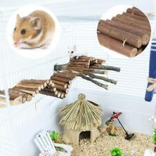 Natural Wooden Flexible Climbing Ladder Bridge Stair For Pet Mouse Hamster Rat m