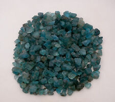 Natural Blue Apatite crystal rough gem mix parcel over 500 carats