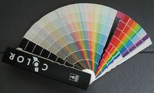 Sherwin Williams COLOR Swatch Fan House Paint Interior Exterior Collection 2001