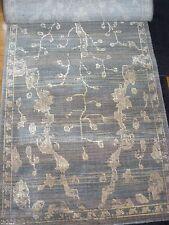 NEW Zealand Wool Nourison Silk Elements Ske30 Azure Area Rug  5'6'' x 8'