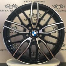 """Cerchi in lega BMW Serie 1 2 3 z3 z4 x1 x3 da 17"""" NUOVI OFFERTA BICOLORE TOP"""