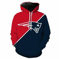SALE NEW ENGLAND PATRIOTS Champs Hoodie Hooded Pullover S-5XL Football NFL 2019