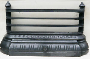 """Antique Fireplace Spares Antique 16""""-18"""" Tiled Inset Front Bars & Ash Pan Cover"""