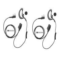 2 X Ear Hanger Headset (2 Pin) for Kenwood BaoFeng WouXun TYT PuXing Radio