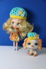 Authentic Hasbro Vtg Original Littlest Pet Shop 1615 & Matching Blythe Doll