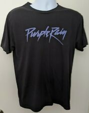 Prince Purple Rain Tee Shirt Mens Size Medium