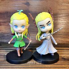 The Hobbit Thranduil King of the Elves legolas PVC Figure Display Stand Limit N