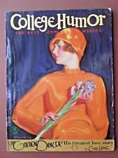 JD329 Vintage College Humor June 1926 McClelland Barelay Parker Pen Ad Art Decco