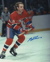 GUY LAFLEUR SIGNED AUTOGRAPH MONTREAL CANADIENS 8X10 PHOTO  PROOF #2